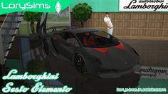 Lamborghini Sesto Elemento at LorySims • Sims 4 Updates