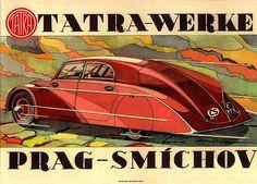 Tatra Werke - Prag Smíchov #tatra #classiccar