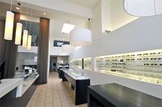 Clear Optometry- I hope to one day own my own Optometry office just like this one