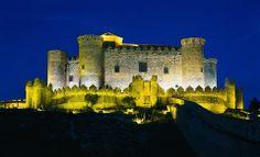 Castillo de Belmonte. Cuenca. España.
