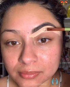 Eyebrow tutorial 👀 Easy eyebrows for beginners #eyebrowsonfleek #eyebrowtutorial #eyebrowshapes #eyebrowmakeup #benefitcosmetics #benefitbrows #eyeshadow #eyebrowshaping #browsonfleek #browstylist #browsonfleek #cejasperfectas #cejas #eyebrowtransformation<br> How To Do Eyeshadow, How To Do Eyebrows, Thin Eyebrows, Simple Eyeshadow, Blending Eyeshadow, Natural Eyebrows, How To Do Makeup, Natural Makeup, Fancy Makeup