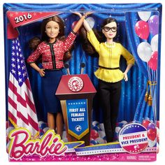 2016 Barbie Careers - President & Vice President Dolls
