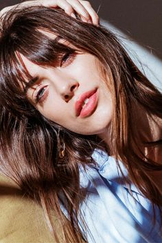 How-To: Model and Stylist Louise Follain on having bangs and choosing perfume