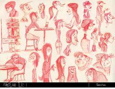 Nikolas Ilic: Designer / Visual Development Artist | Sketches/ Life Drawing