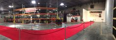 VIP Forklift reveal for Toyota Forklift of Atlanta #reveal #vip #red #redcarpet #event #atlevent #atlanta #executive #rental #redropes #stanchion