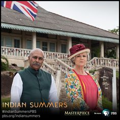 "Kaiser (Indi Nadarajah) and Cynthia Coffin (Julie Walters) in front of ""The Royal Simla Club"" 