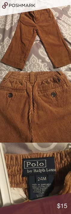 Corduroy pants Tan corduroy Polo pants in as new condition Polo by Ralph Lauren Bottoms