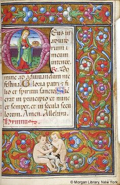 Book of Hours, M.256 fol. 197r - Images from Medieval and Renaissance Manuscripts - The Morgan Library & Museum