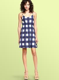 Every girl needs a good gingham. Gingham Linen Dress $59.95