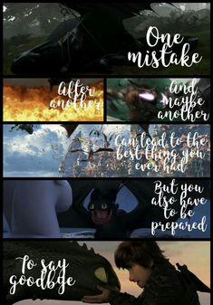 Httyd has changed my life forever. I made this and I have been crying for the past hour. Hard to believe it's time to say goodbye. Dragon Quotes, Dragon Memes, Hiccup And Toothless, Hiccup And Astrid, Toothless Dragon, Httyd Dragons, Cute Dragons, How To Train Dragon, How To Train Your