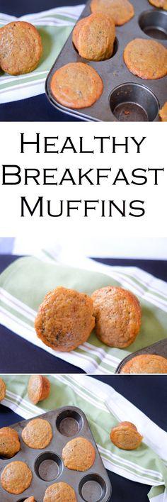 Low Fat Fresh Orange + Carrot Breakfast Muffins - Healthy Recipe w. Nonfat Greek Yogurt + Less Sugar #LMrecipes #muffins #healthy #greekyogurt #mealprep #makeahead #healthy #foodblog #foodblogger