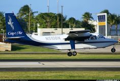 Cape Air Britten-Norman BN-2 Islander 	 San Juan - Luis Munoz Marin International (Isla Verde) (SJU / TJSJ) Puerto Rico, January 26, 2014