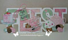 Tineke's kaartenhoekje: Tijd voor taart! Marianne Design, Altenew, Penny Black, Kids Cards, Box, Christmas Cards, Scrap, Create, Big Shot