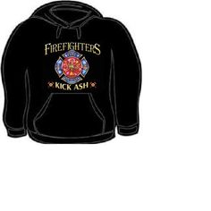 3dd5d903b6 Hoodie: fire fighters kick ash Hooded Sweatshirts hoodies shirt clothes  funny jokes humor kool firefighter, This listing is for made to order,