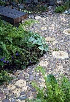 Comment décorer une allée de jardin avec des galets | Garden paths ...