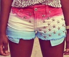 tyedye shorts