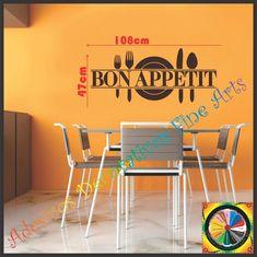 Adesivo de Parede Bon Appétit