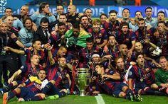 TRIPLETE!!!! Europa es azulgrana. Felicidades a todos los barcelonistas en un año histórico