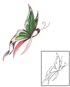 Show details for Breast Cancer Tattoo MPF-00004