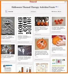 for those of you who might have missed it, check out our Pinterest Pinboard of the Week: Halloween Themed Therapy Activities (and Treats) - Pinned by #PediaStaff.  Visit http://ht.ly/63sNt for all our pediatric therapy pins
