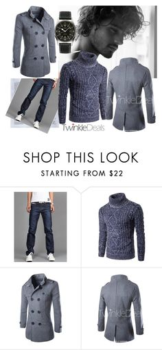 """& TwinkleDeals-Men Style & 38/I"" by nura-akane ❤ liked on Polyvore featuring Longines, men's fashion, menswear, polyvoreeditorial and twinkledeals"