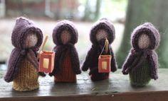 Autumn ~ Martinmas ~ Knit Lantern Children