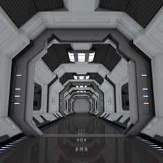 Great art by Spaceship Interior, Futuristic Interior, Spaceship Art, Spaceship Design, Spaceship Concept, Futuristic Design, Science Fiction Kunst, Sci Fi City, Sci Fi Spaceships