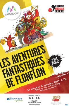 Les aventures fantastiques de Flonflon | 2 novembre 2014
