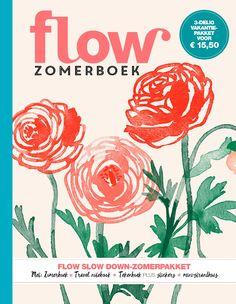 Het Flow Zomerpakket is er! Media Magazine, Magazine Art, Wow World, Motif Floral, Whimsical Art, Illustrator, Stickers, Hoes, Junk Journal