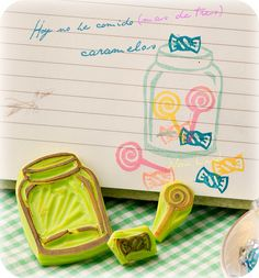 El bote de caramelos, via Flickr.