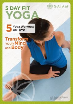 5 Day Fit Yoga:: Transform Your Mind and Body, with Suzanne Deason & Rod Stryker - DVD.