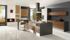 Gorenje Interior Design - Nola olive high gloss / white high gloss