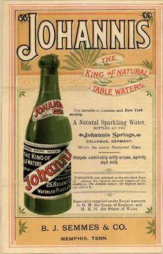 BEVERAGE: Sparkling Water (1900)