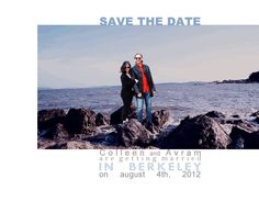 Love this save the date gif!
