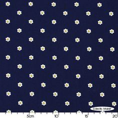 Swirly Girls Daydream Seize the Daisy in Navy Swirly Girls Daydream Seize the Daisy in Navy Michael Miller fabric for patchwork quilting and...