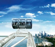 Singapore Flyer. Tallest ferris wheel