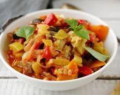 Poivrons à la poêle : http://www.cuisineaz.com/recettes/poivrons-a-la-poele-36094.aspx
