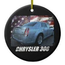2013 Chrysler 300S Glacier Ceramic Ornament