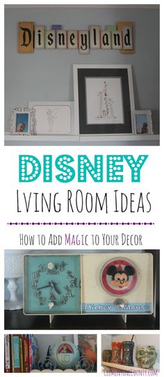 Add magic to your décor with Disney Living Room Ideas.