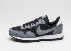 Nike Wmns Air Pegasus 83 (Black / Cool Grey - White - Wolf Grey)