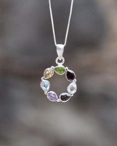 This beautiful pendant in our Sari Stone String collection was handmade in a small home-based workshop in the historic old city of Jaipur, India. Chakra, Beautiful Things, Gemstone Rings, Healing, Pendant, Silver, Handmade, Jewelry, Hand Made