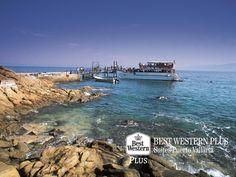 EL MEJOR HOTEL DE PUERTO VALLARTA. Uno de los más increíbles paisajes de Puerto Vallarta, son Las Caletas. Aunque la única forma de acceso a este majestuoso lugar es por mar, le aseguramos que valdrá la pena hacer el recorrido para ser testigo de esta maravilla de la naturaleza. En Best Western Plus Suites Puerto Vallarta, le recomendamos apuntar en su itinerario este hermoso sitio. #elmejorhotelenpuertovallarta