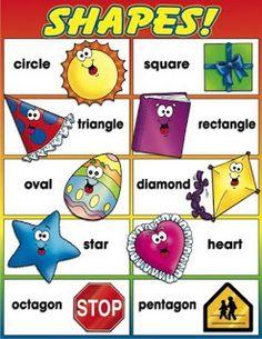 Figures geomètriques en anglès