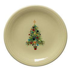 Fiesta® Dinnerware Christmas Tree Large Serving Bowl made by Homer Laughlin China Company. White with Red Stripe around rim of bowl; approximately\u2026  sc 1 st  Pinterest & Fiesta® Dinnerware Christmas Tree Large Serving Bowl made by Homer ...