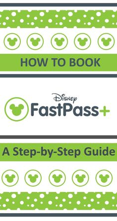 A step-by-step guide to booking fastpass+ for Disney World in Florida. A easy guide to Disney Fast Passes with screenshots at every stage.