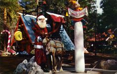 santas village - The North Pole. . . I got my cousin to stick his tongue on this and he got stuck. . .  too funny!