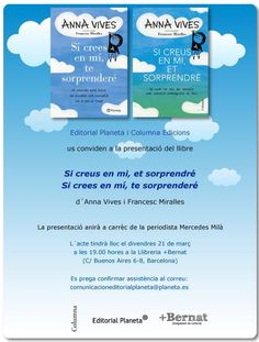 Primera presentació del llibre a la llibreria  + Bernat