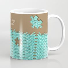 ▓ Pls request me to activate this design on other product if you wish, just. leave me a comment or write me, It will be available for you to purchase ▓ Lacy Wave mugs are available in 11 & 15 ounce sizes, It features wrap-around art & large handles for easy gripping. Dishwasher, microwave safe,suit to consume hot/ cold beverages. Follow We~Ivy's Art BootH for more special #art #gift ideas for #holiday seasons or # birthday #party, to find great #home decors or stuff just to spoil yourself. Waves Line, To Spoil, My Themes, Website Themes, Ocean Waves, Mug Designs, Beach Towel, Microwave, Dishwasher