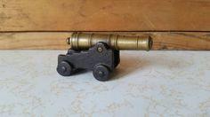 Small Brass Canon