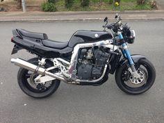 Imagem relacionada Suzuki Gsx R 750, Gsxr 750, Motorcycle, Vehicles, Motorcycles, Car, Motorbikes, Choppers, Vehicle